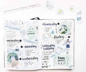 bujo and bullet journal image