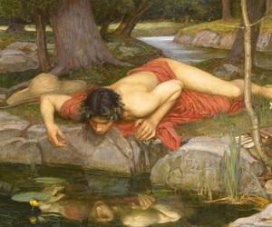 article, narcissus, and mythology image