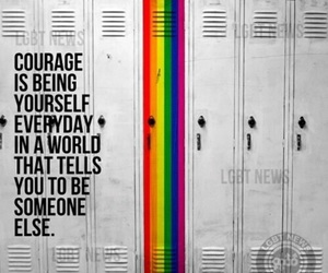 bisexual, beyourself, and courage image