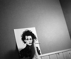 cigarette and johnny depp image