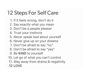 facts, self care, and self care facts image