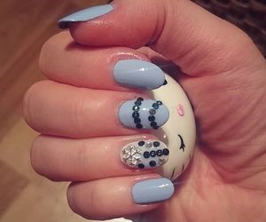 hello kitty, almond nails, and essence image