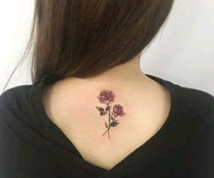 roses, tatto, and tatto roses image