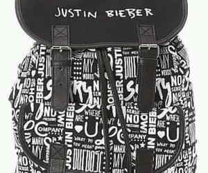 backpack, purpose, and beliebers image