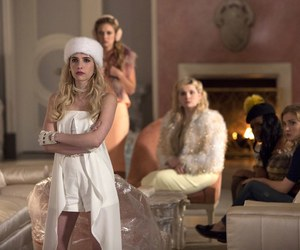 scream queens, abigail breslin, and emma roberts image