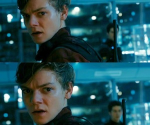 newt, the death cure, and the maze runner image