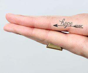 arrow, hope, and tattoo image