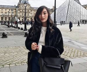 black, fashion, and louvre image