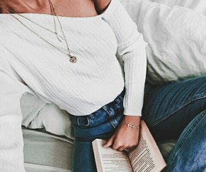 books, style, and fashion image