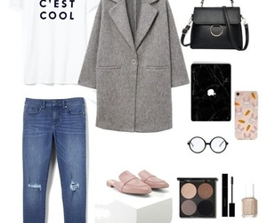 jeans, casual outfit, and polyvore outfit image