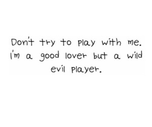 evil, play, and lover image