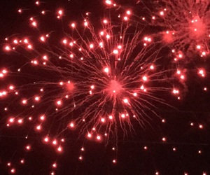 new year, fireworks, and my photos image