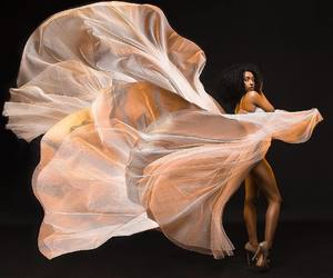 black is beautiful, black women, and draping image