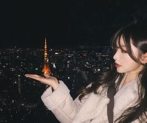 girl, korean, and night image