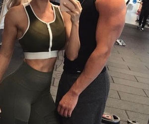 abs, body, and couple image