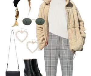 cool, fall, and fashion image