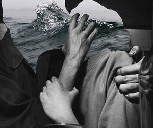kiss, theme, and sea image