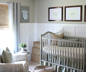 baby, bedroom, and nursery image
