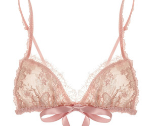 bralette, lace, and lingerie image