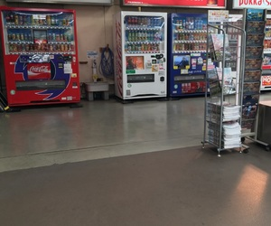 coke, japan, and vending machine image