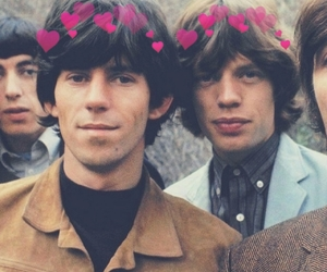 boys, glimmer twins, and Keith Richards image
