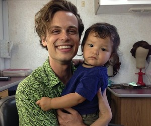 matthew gray gubler, baby, and spencer reid image