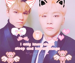 icon, couple asian, and seungkwan image