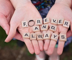 always, forever, and letters image