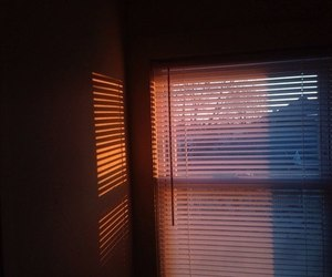 sunset, window, and sun image