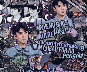 editing, exo, and kpop image