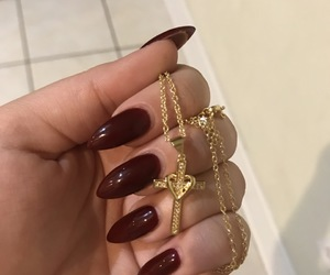 aesthetic, cross, and gold image