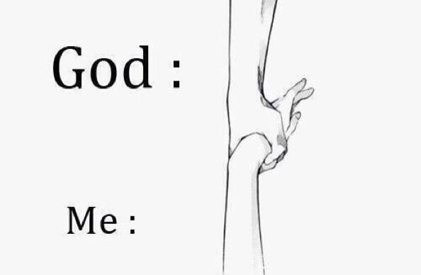god, love, and me image