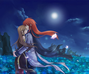 tales of the abyss, luke fon fabre, and tear grants image