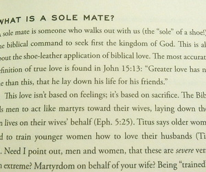 god, wife, and solemate image