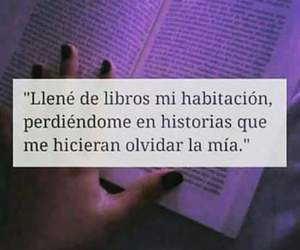 books, frases, and historia image