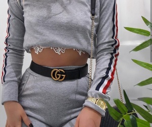 chic, gucci, and outfit image