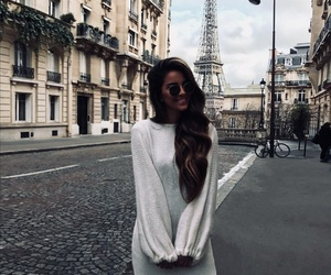 france, girl, and outfit image
