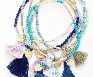 beautiful, charms, and blue image