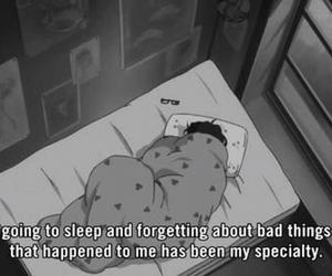 depressed and sleep image