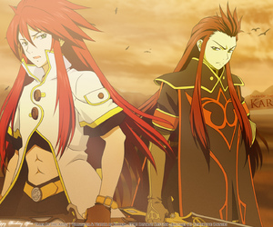 tales of the abyss, asch the bloody, and luke fon fabre image