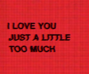 red, love, and quotes image