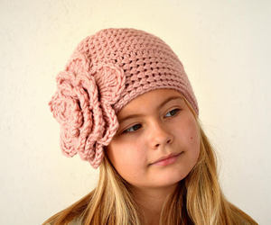 etsy, pink, and winter hat image