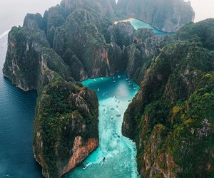 nature, thailand, and blue image
