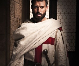 history channel, tom cullen, and knightfall image