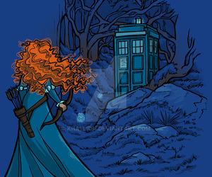 brave, doctor who, and tardis image