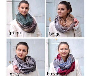 etsy, oversized scarf, and women accessories image