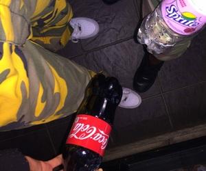 camouflage, coca cola, and fashion image