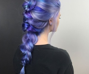 hair, hairstyle, and beautiful image