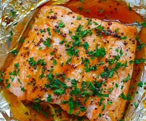 fish, foil, and food image