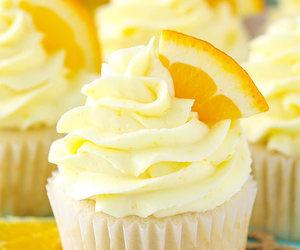bake, cream, and cupcake image